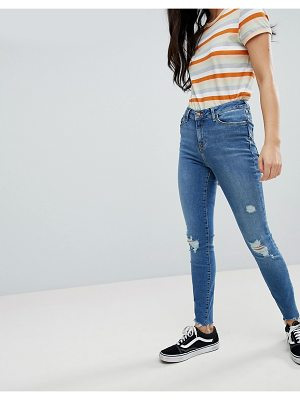 New Look Ripped Skinny Frayed Shaper Jean
