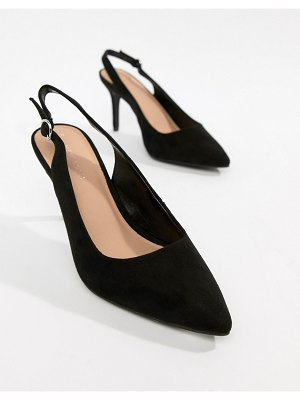 New Look slingback court shoe