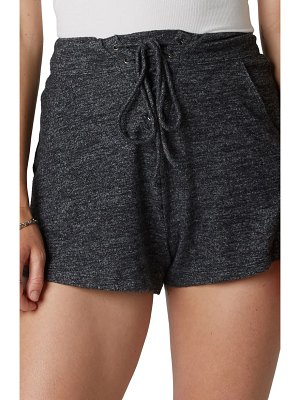 NIA lace up hacci shorts