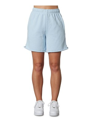 NIA mid length french terry shorts