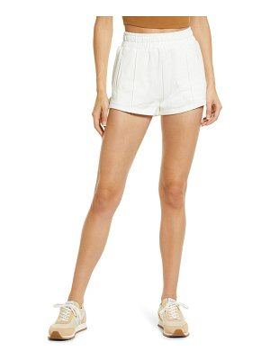 NIA smocked french terry shorts