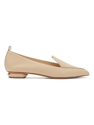 Nicholas Kirkwood beya grained leather loafers