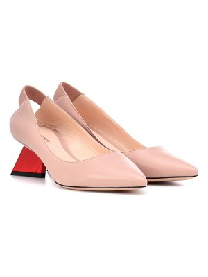 Nicholas Kirkwood Veronika leather pumps