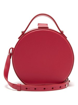NICO GIANI tunilla mini matte leather circle bag