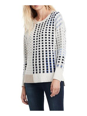 NIC+ZOE Dream Weaver Geometric Sweater