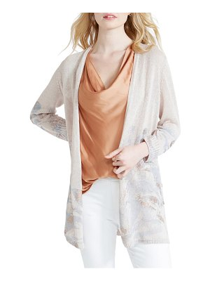 NIC+ZOE haven linen blend cardigan