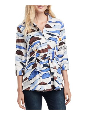 NIC+ZOE In A Row 3/4-Sleeve Blouse
