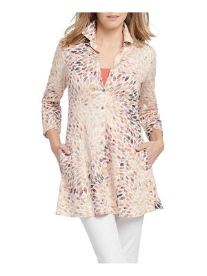 NIC+ZOE morning burst shirt jacket