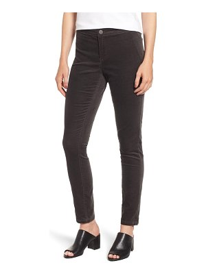 NIC+ZOE stretch velvet skinny pants