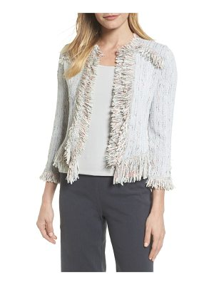 NIC+ZOE pop on fringe jacket