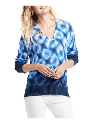 NIC+ZOE Shibori V-Neck Sweater