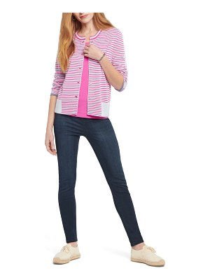 NIC+ZOE Striped Toggle Cardigan