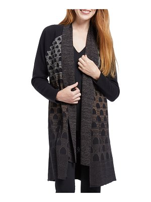NIC+ZOE Wild Country Open-Front Cardigan