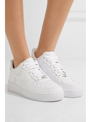 Nike air force i leather sneakers