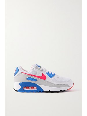 Nike air max iii mesh, suede and leather sneakers