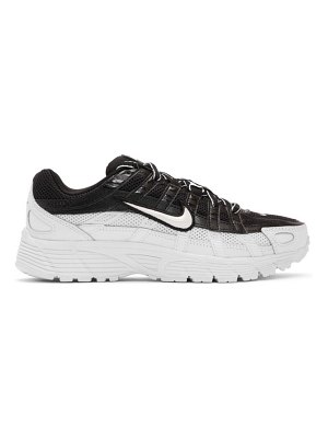 Nike and white p-6000 sneakers