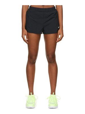 Nike black court flex shorts