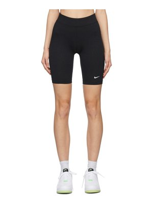 Nike black sportswear essential shorts