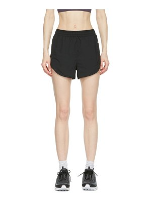 Nike black tempo luxe 3-inch shorts