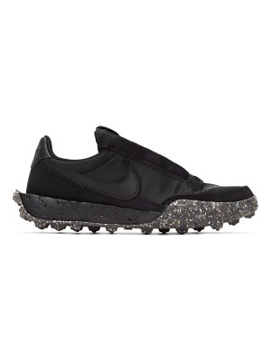 Nike black waffle racer crater sneakers