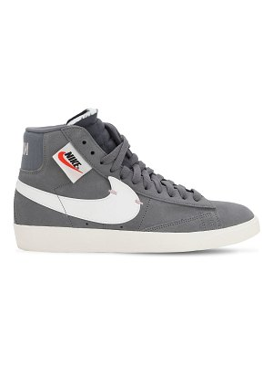 Nike Blazer mid rebel suede high top sneakers