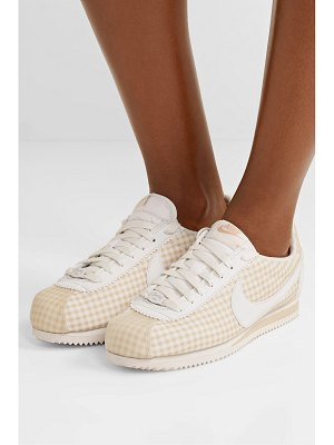 Nike classic cortez gingham canvas sneakers