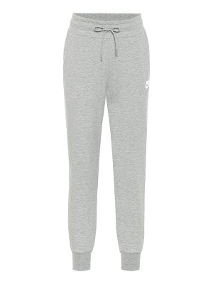 Nike cotton-blend jersey trackpants