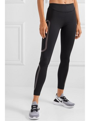 Nike epic lux rubber-trimmed dri-fit leggings