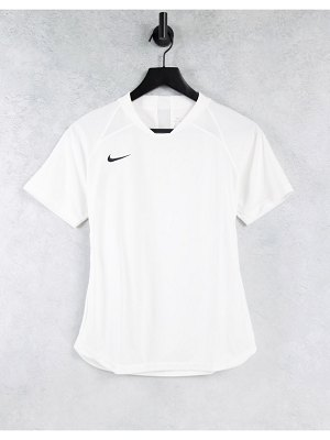 Nike Football nike soccer dry fit legend jersey in white