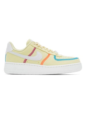 Nike green air force 1 07 lx sneakers