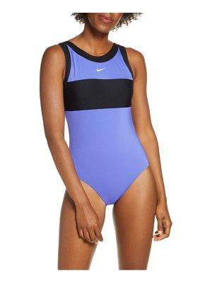 Nike high neck one-piece swimsuit