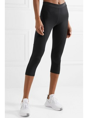 Nike hypercool mesh-paneled stretch leggings