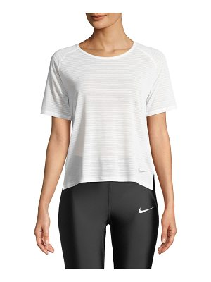 Nike Miler Short-Sleeve Performance Top
