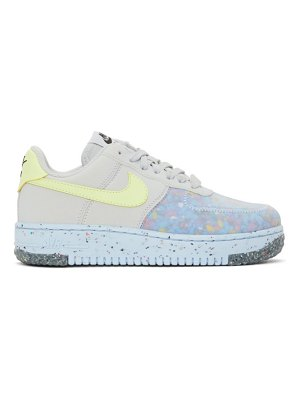 Nike multicolor air force 1 crater sneakers