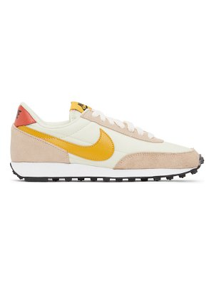 Nike pink and white daybreak sneakers