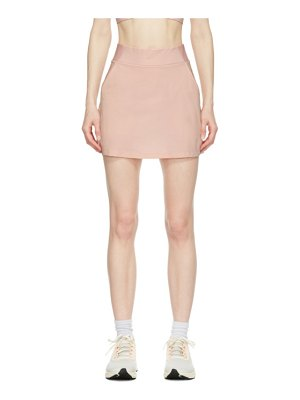 Nike pink flex bliss luxe skirt