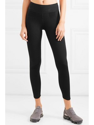 Nike power epic lux ribbed dri-fit stretch leggings