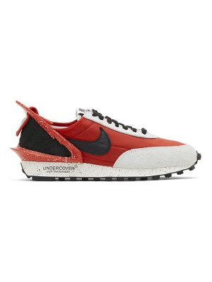 Nike red undercover edition daybreak sneakers