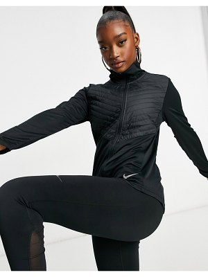 Nike Running essentials synthetic-fill jacket in black