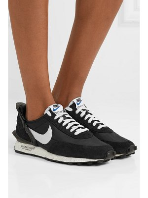 Nike undercover daybreak shell, suede and leather sneakers