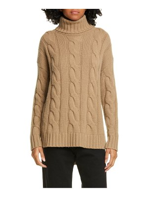 NILI LOTAN brynne cashmere cable sweater