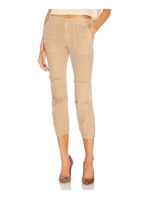 NILI LOTAN cropped french military pant