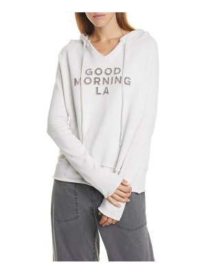 NILI LOTAN good morning la hoodie