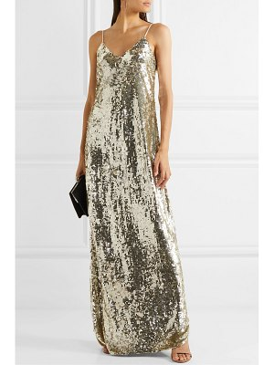 NILI LOTAN sequined chiffon gown