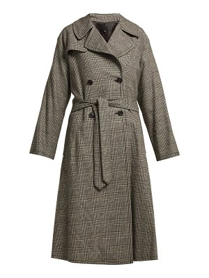 NILI LOTAN topher belted trench coat