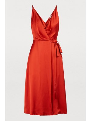 Nina Ricci Satin dress