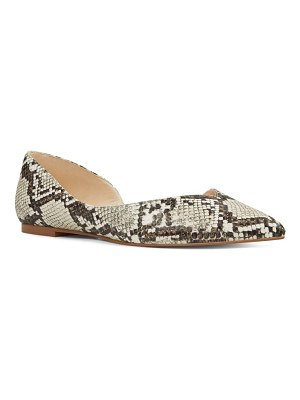 Nine West aryn skimmer flat