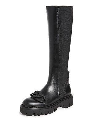 No. 21 tall chain boots