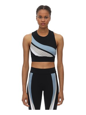 NO KA'OI Game lani stretch techno bra top