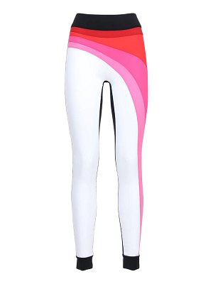 NO KA'OI High waist reflecting sunlight leggings
